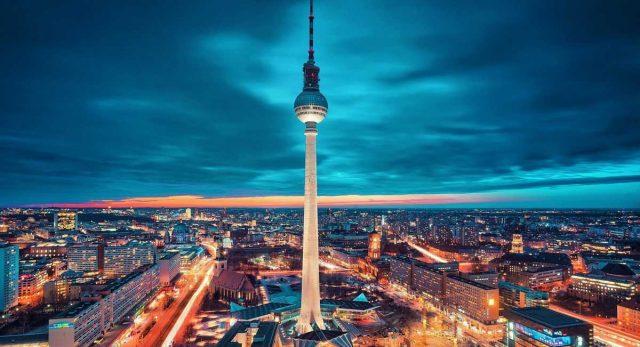 Берлинская телебашня / Berliner Fernsehturm