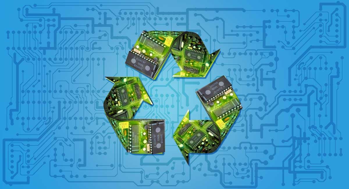 Recycling electronik