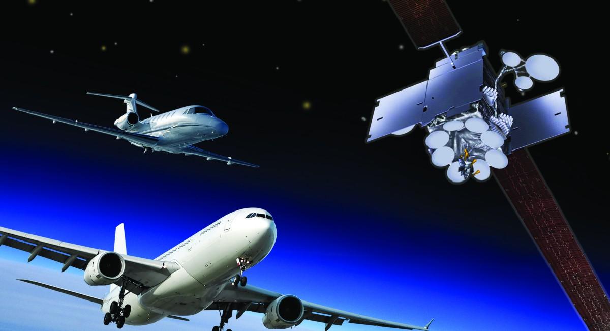 satellite internet aircraft