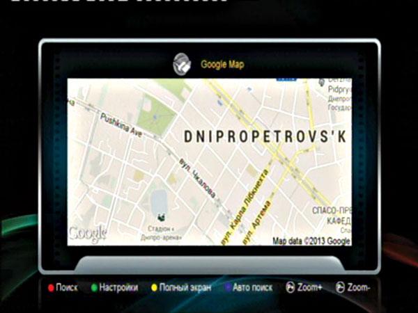 Рис. Google maps режим карты