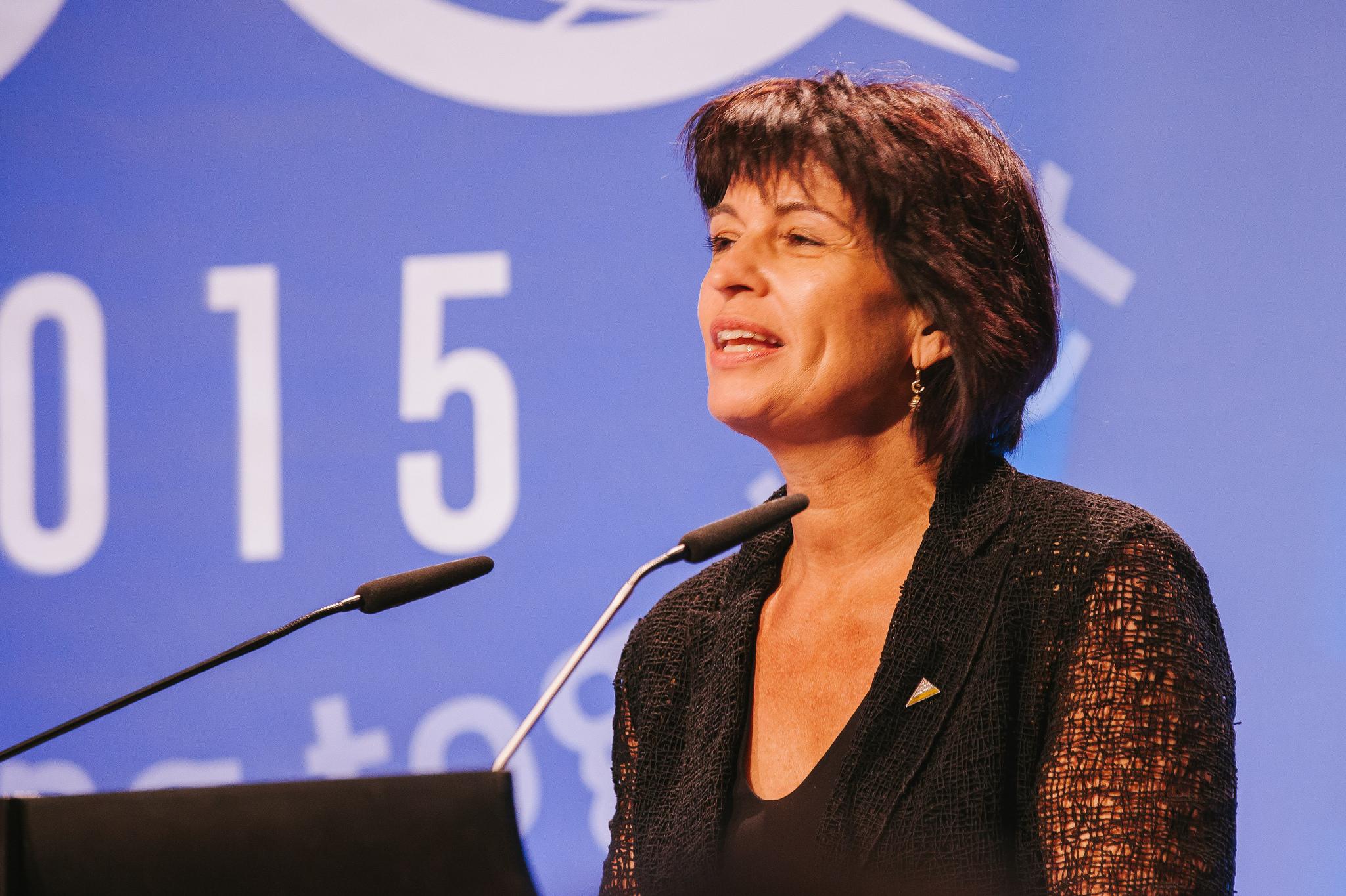 Doris Leuthard, Minister of Environment, Transport, Energy and Communications of Switzerland