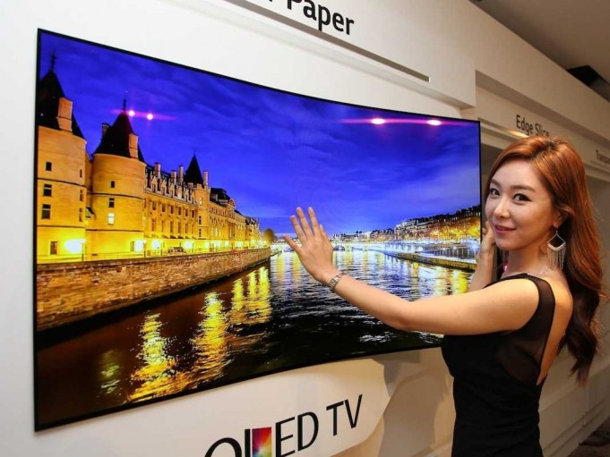 LG wallpaper TV