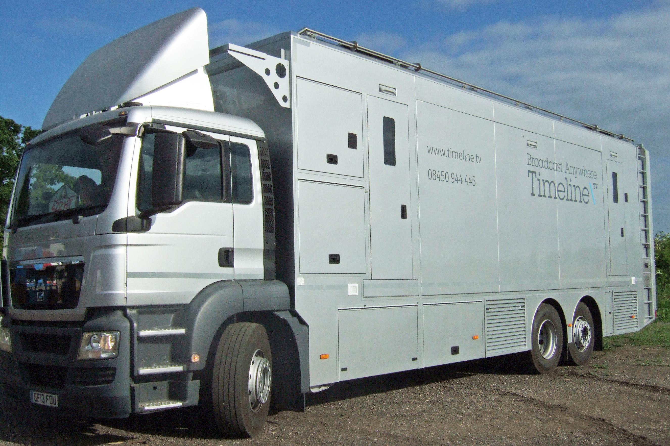 Timeline Television OB truck