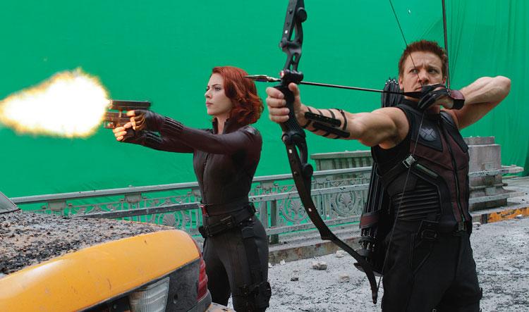 Популярность технологии съёмки «зелёный экран» облегчает возможность создания фильмов в «искусственном 3D».
