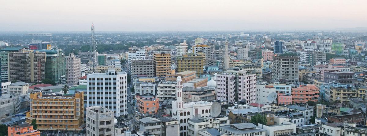 Дар-эс-Салам — крупнейший город Танзании. Самый богатый город страны и важный экономический центр.