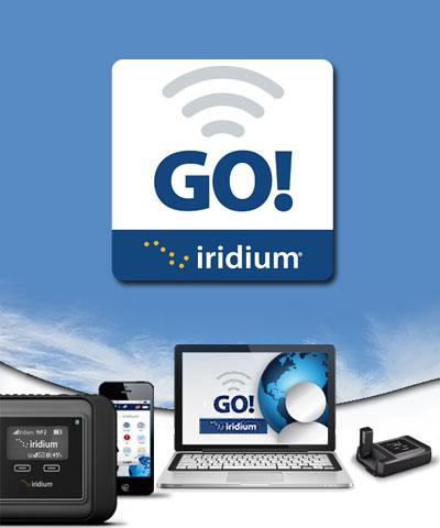 Iridium GO Iridium Mail apps