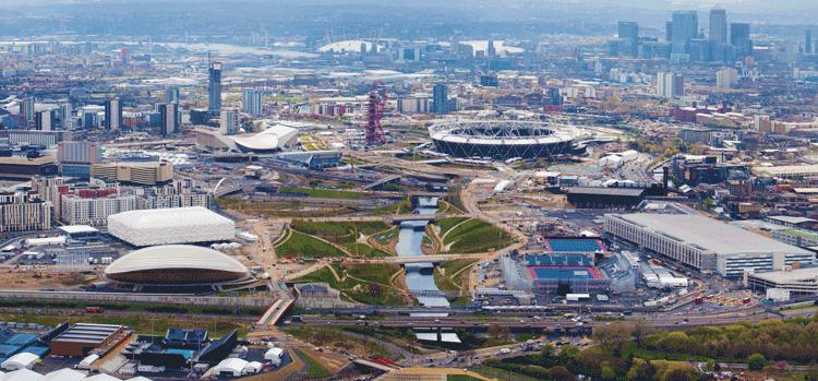 Олимпийский Парк в апреле 2012 г.