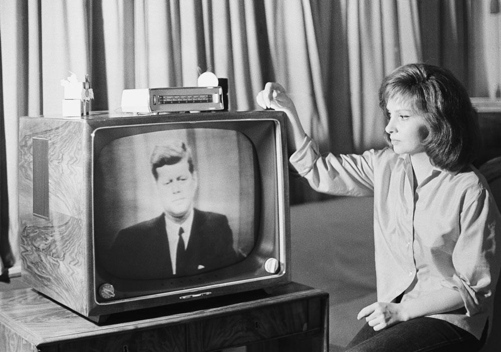 kennedy television telstar