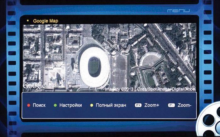 Рис. Google maps: режим фото со спутника