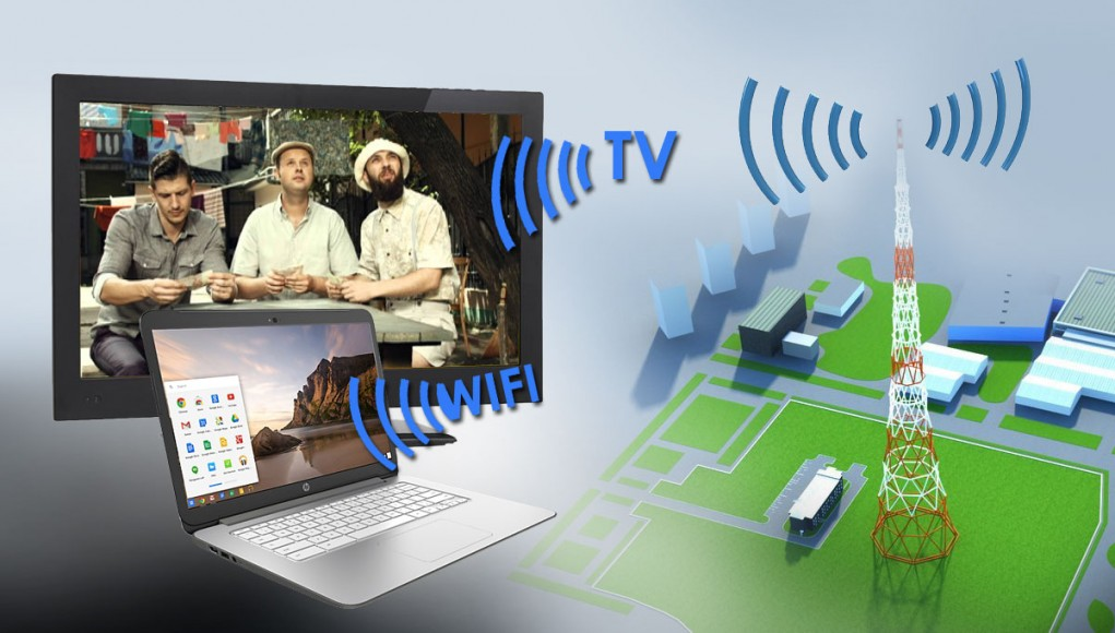 Wi-Fi in Active TV Channels
