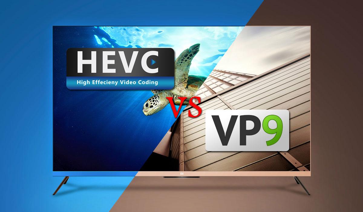 H.265 vs VP9