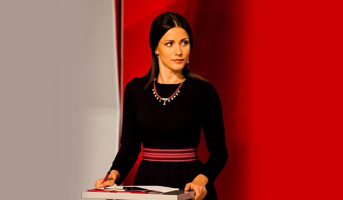 Татьяна Даниленко, ведущая телеканала «5 канал»