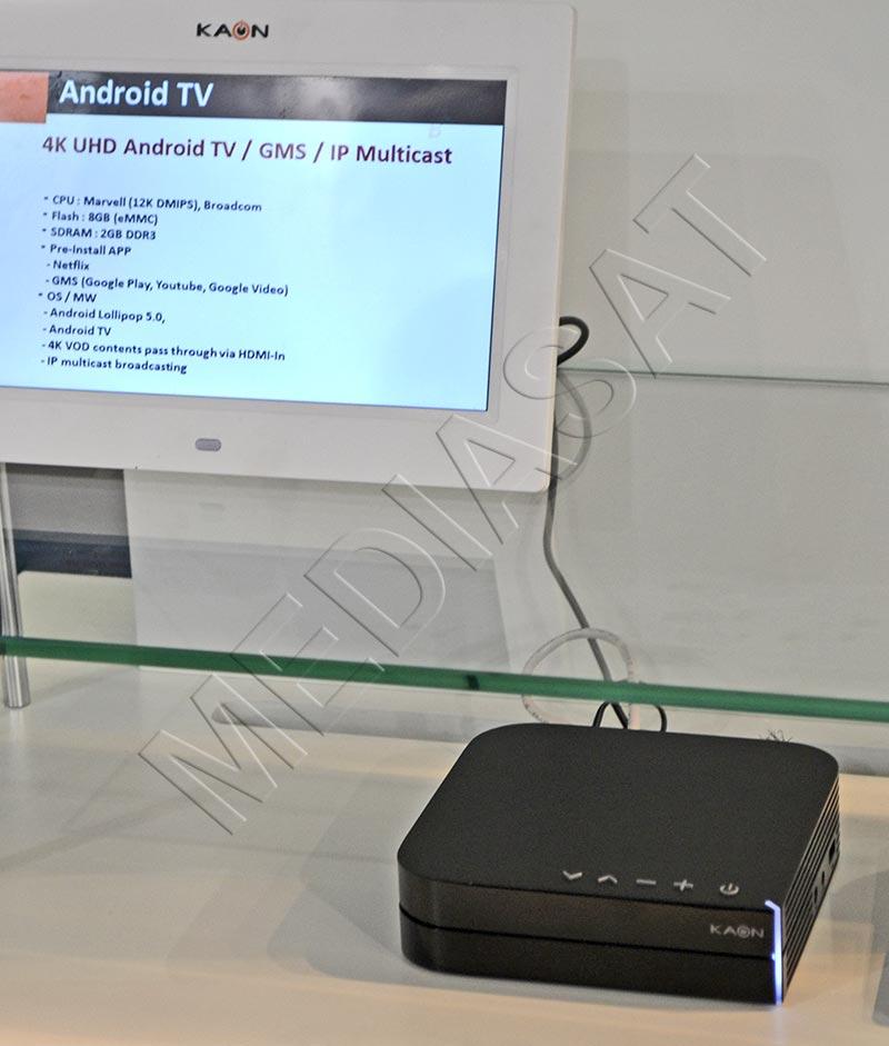KaonMedia 4K UHD Android TV