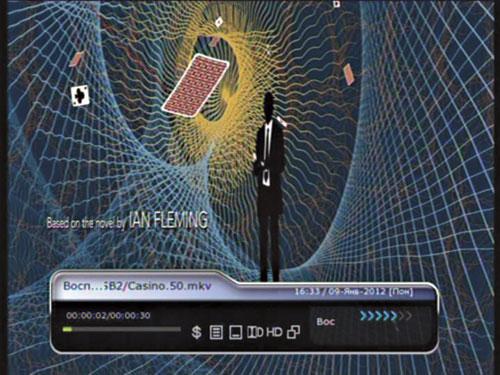 Рис. Воспроизведение видео mkv 1080p