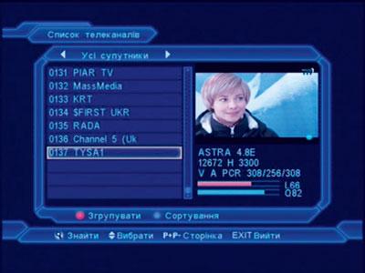 Прием телеканала с низким SR (Тиса-1)