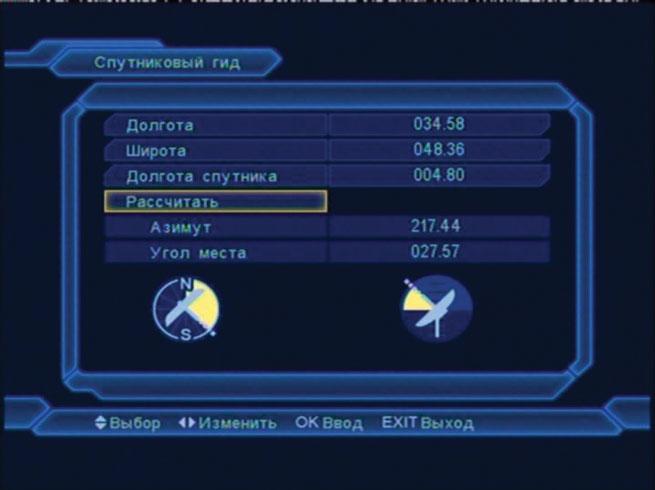 Рис. 5 Расчет параметров антенны