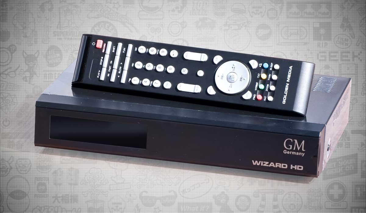 Домой Обзор техники Golden Media Wizard HD — спутниковое телевидение  по-немецки. Обзор техники · Статьи