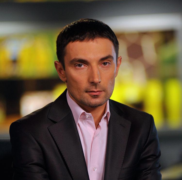 Андрей Малиновский, комментатор телеканала Футбол 1 / Футбол 2
