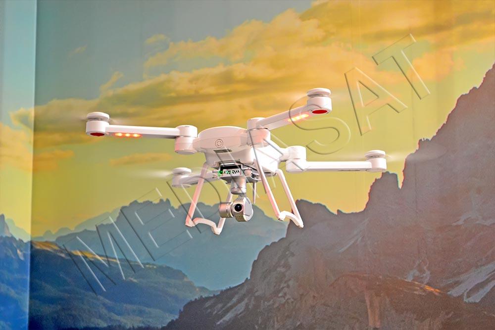 4-пропеллерный дрон Byrd