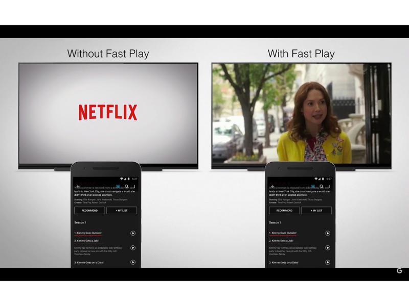 google chromecast 2015 fast play