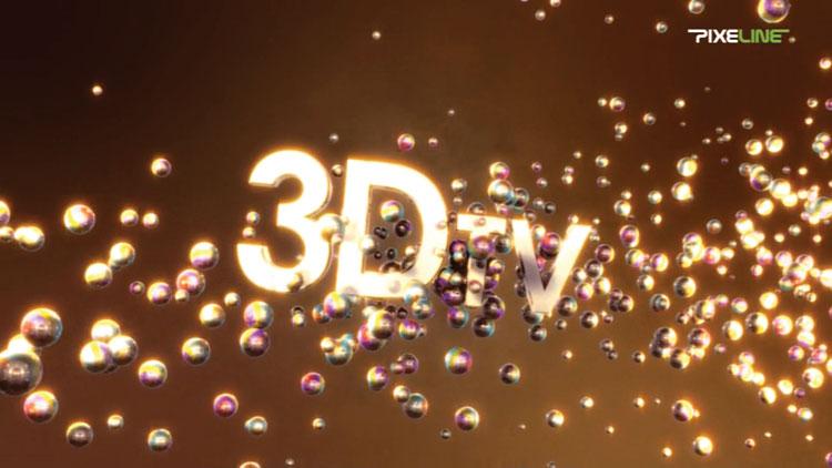 Рис. 4б: ...а так его отображает 3D-телевизор