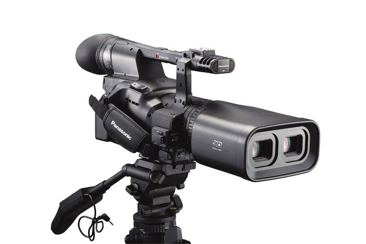 Рис. 5: Профессиональная стереоскопическая видеокамера Panasonic