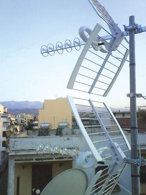 Эфирные антенны, г.Афины