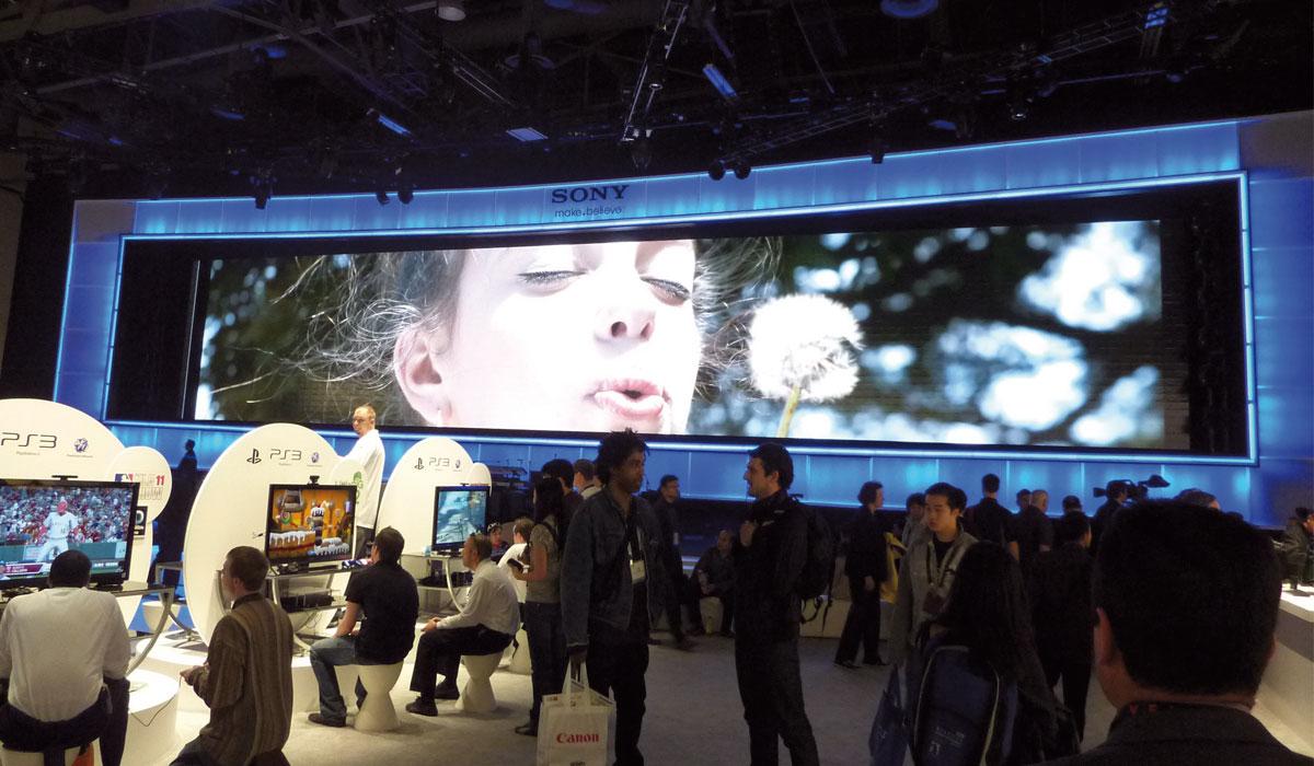 ces 2011 Sony