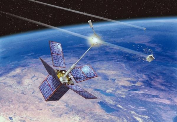 Очистка орбиты от космического мусора при помощи лазера