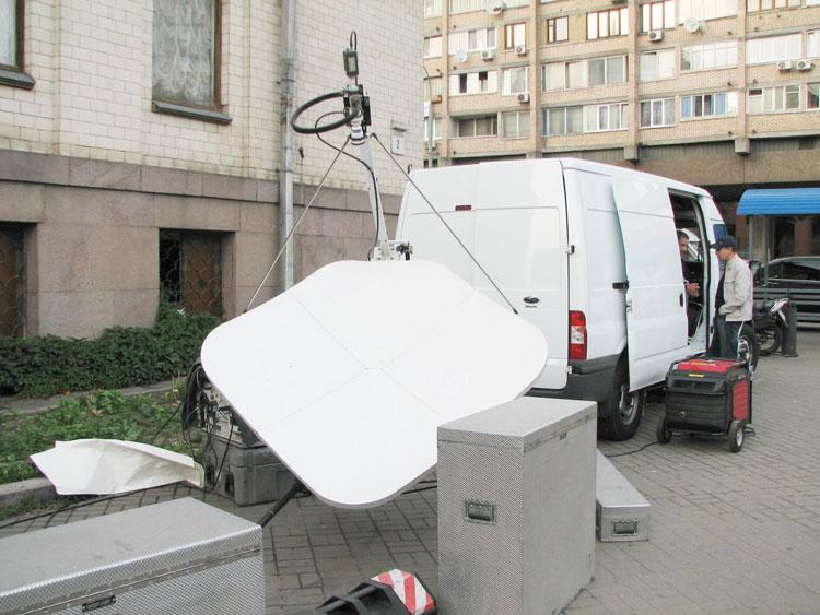 Передвижная телевизионная станция