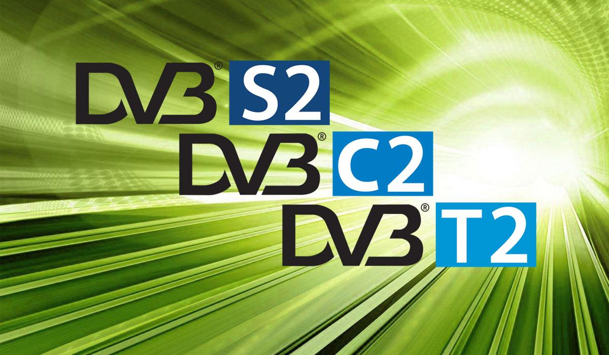 DVB-S2, DVB-T2, DVB-C2