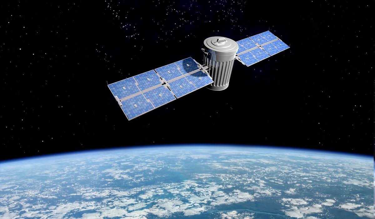 Орбитальный сборщик мусора / Orbiting garbage collector