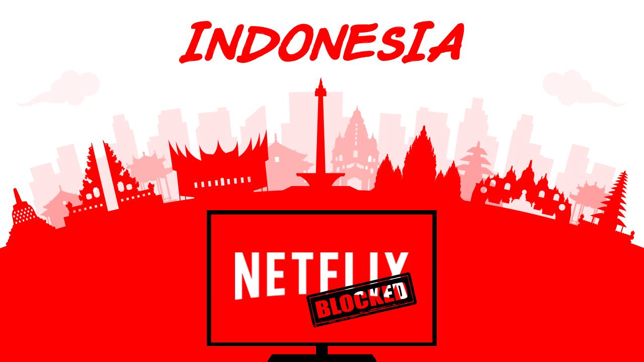 Netflix Blocked In Indonesia/ Netflix заблокирован в Индонезии