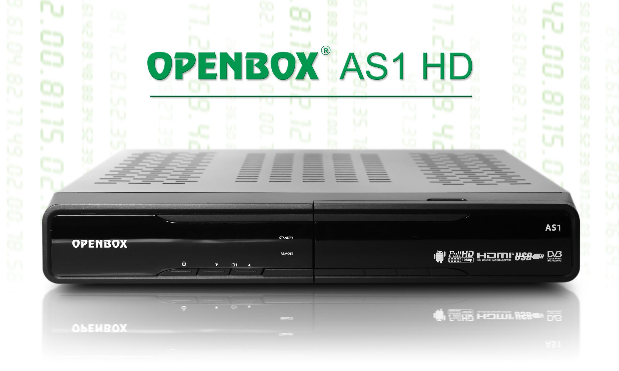 Медиаприставка OpenBox AS1