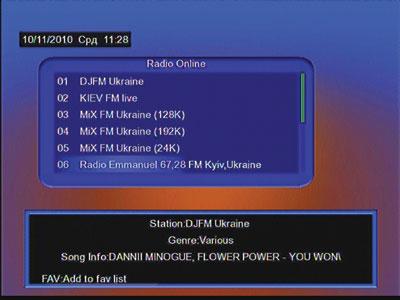 Работа интернет-радио