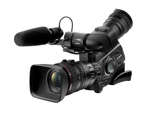 Рисунок 6. Камера с закрепленным на ней «накамерным» передатчиком