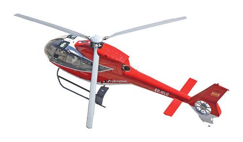 Рисунок 7. Размещение «беспроводной камеры» на вертолете.