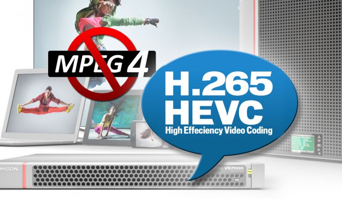 not mpeg4, yes hevc