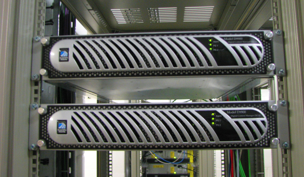 Мультиплексоры Scientific Atlanta DCM 9900 (формирование сигнала)