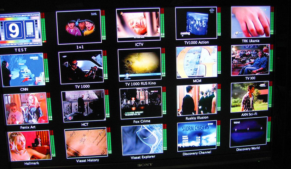 Мониторинг каналов «Viasat Украина»