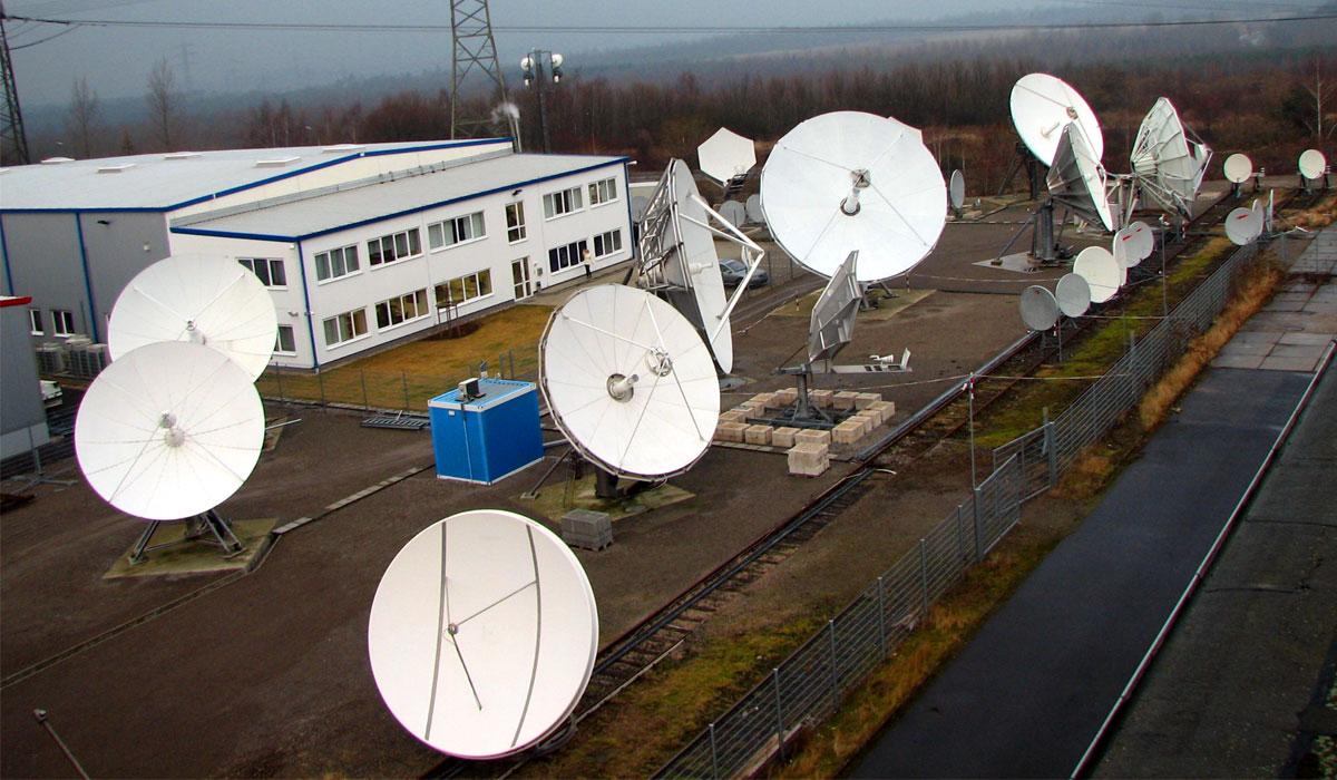 Антенное поле компании Stellar-DBS