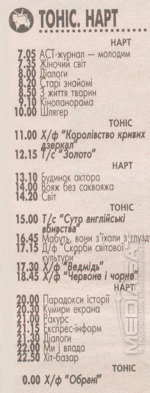 tonis-nart-programma-2001