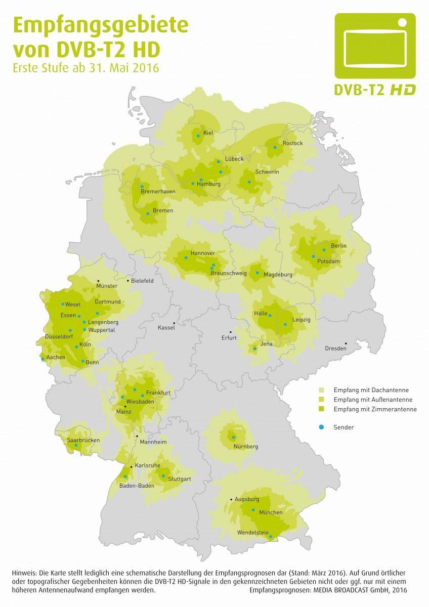 Германия DVB-T2 HD