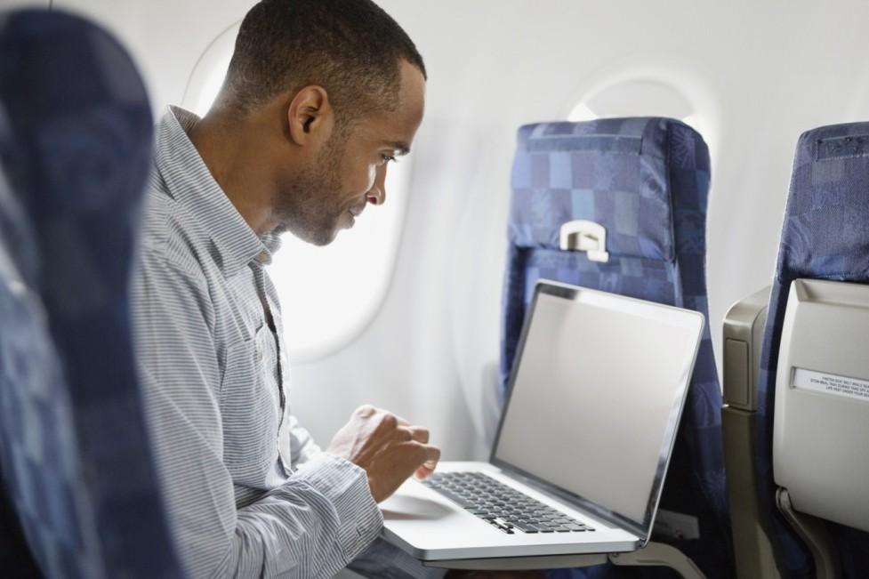 Интернет в самолёте