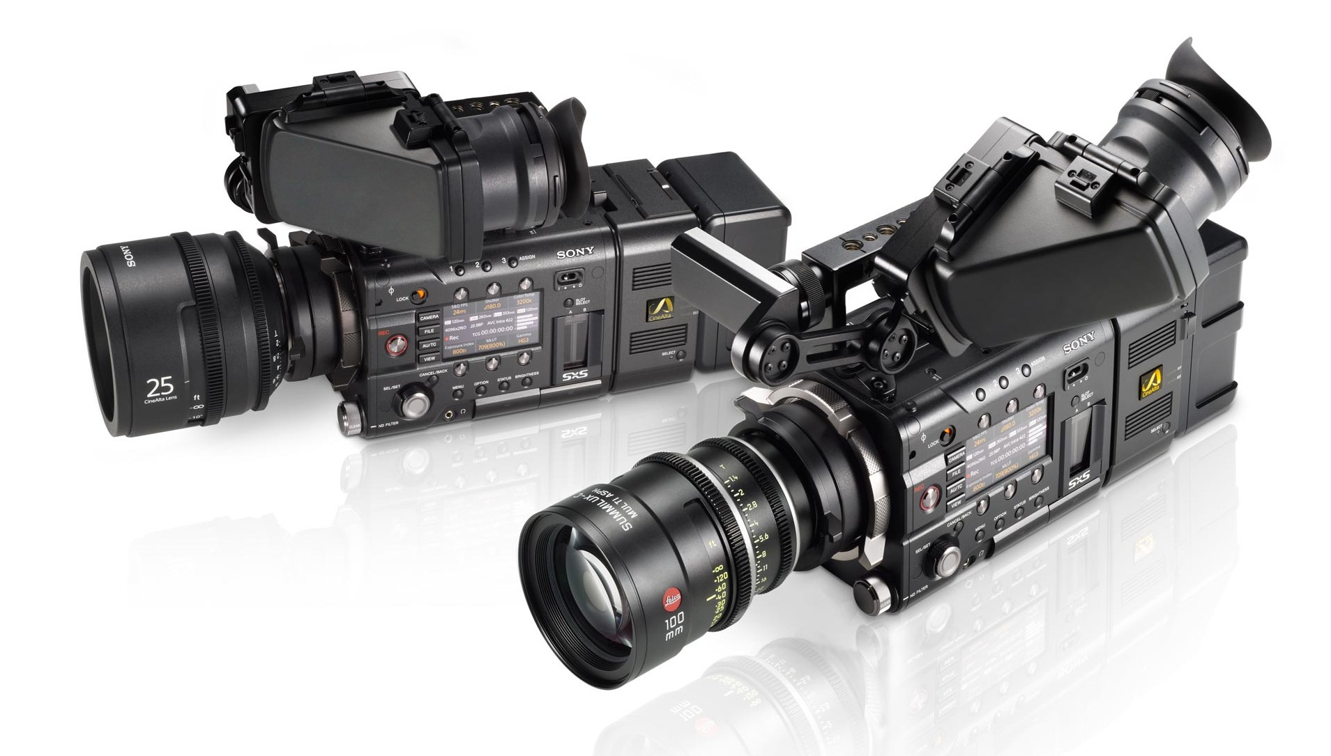 sony F55 and F5
