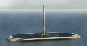 First Stage Landing Falcon 9