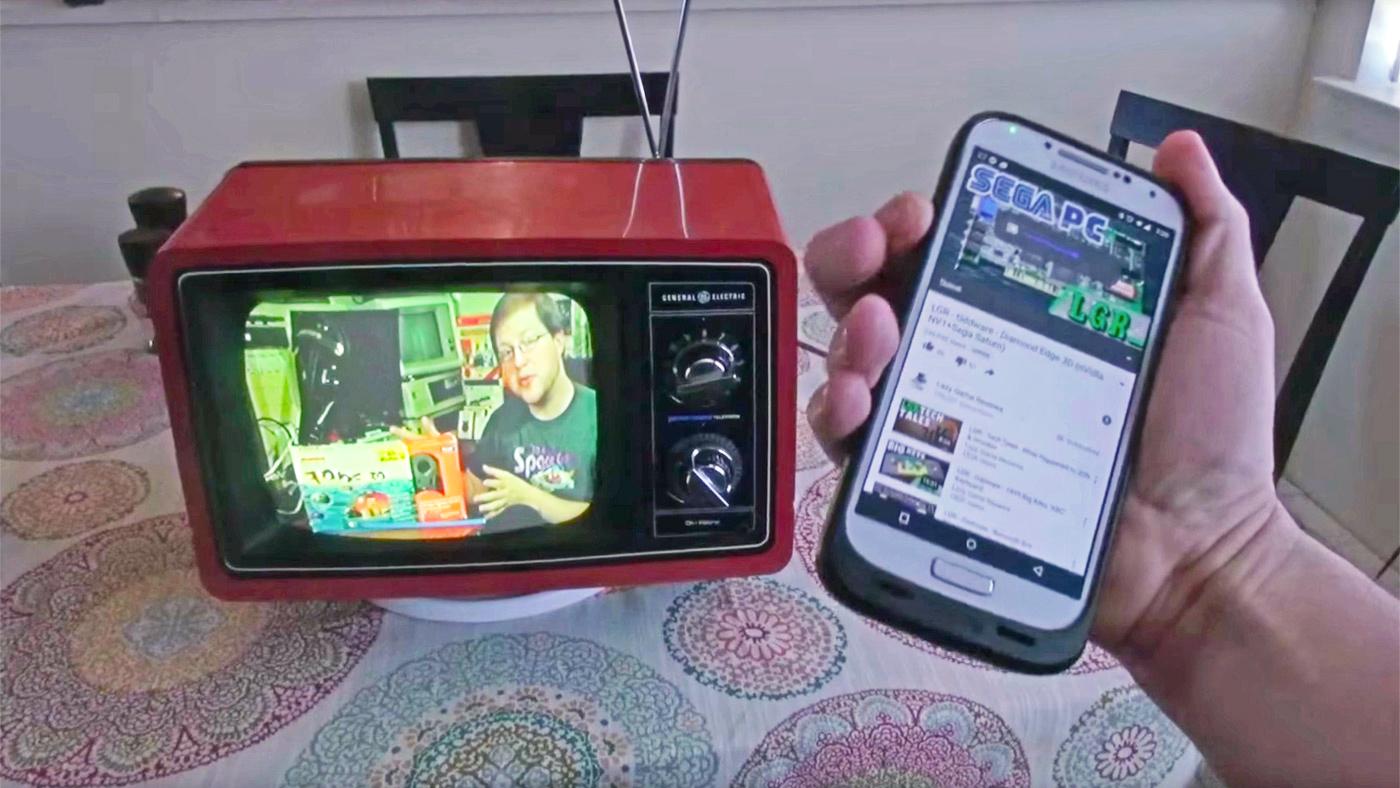 chromecast vintage tv
