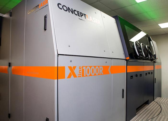 3D SLM принтер: X линия 1000R от Concept Laser