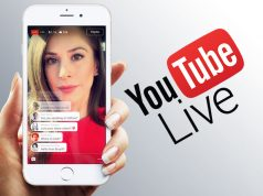 YouTube live stream mobile