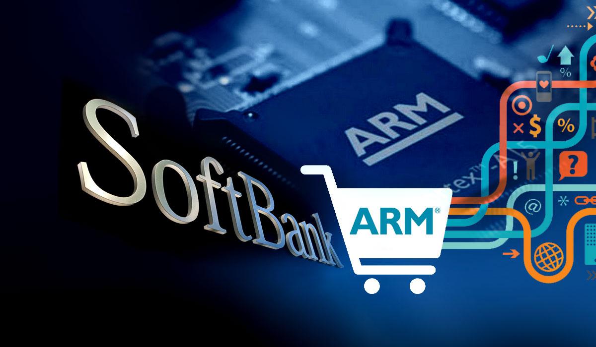 Softbank покупает ARM